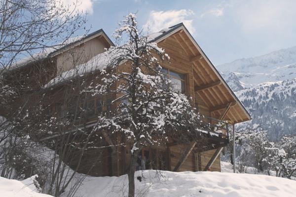 Mountain Lodge Exterieur