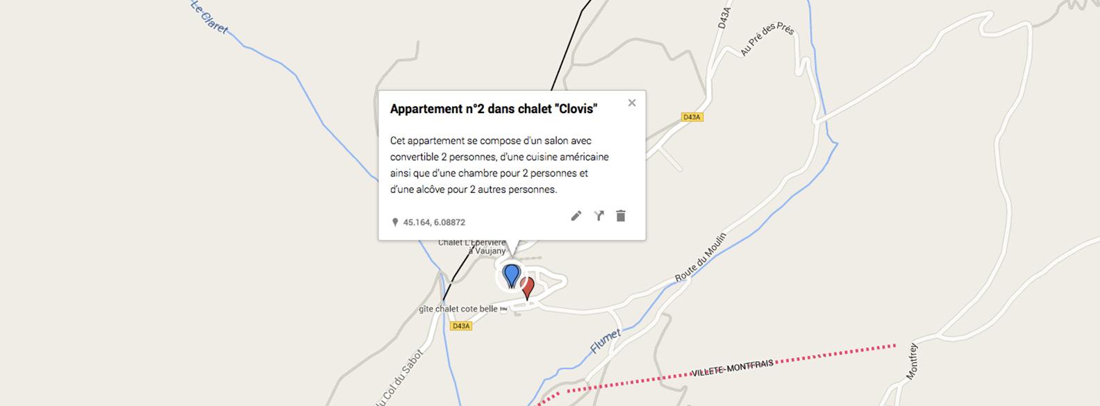 Chalet clovis n 2 6p chalets vaujany - Office de tourisme vaujany ...